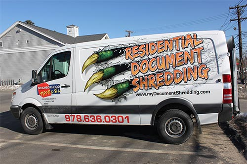 CUSTOM DRAWN VAN WRAP