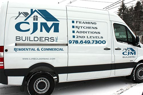 CJM BUILDERS VEHICLE GRAPHICS