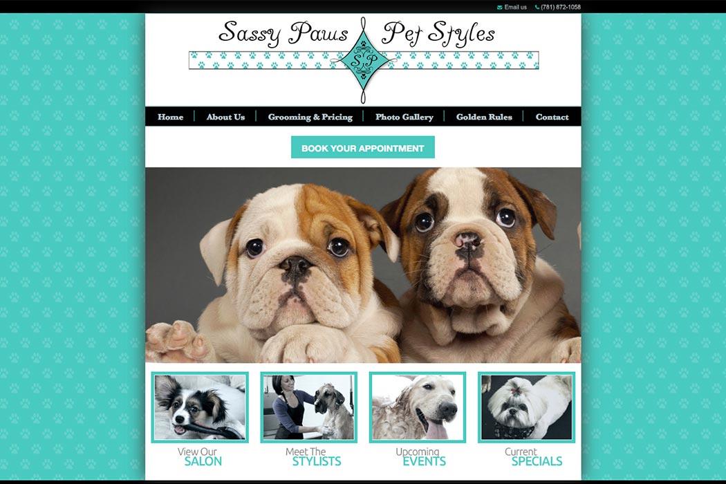SASSY PAWS PET STYLES