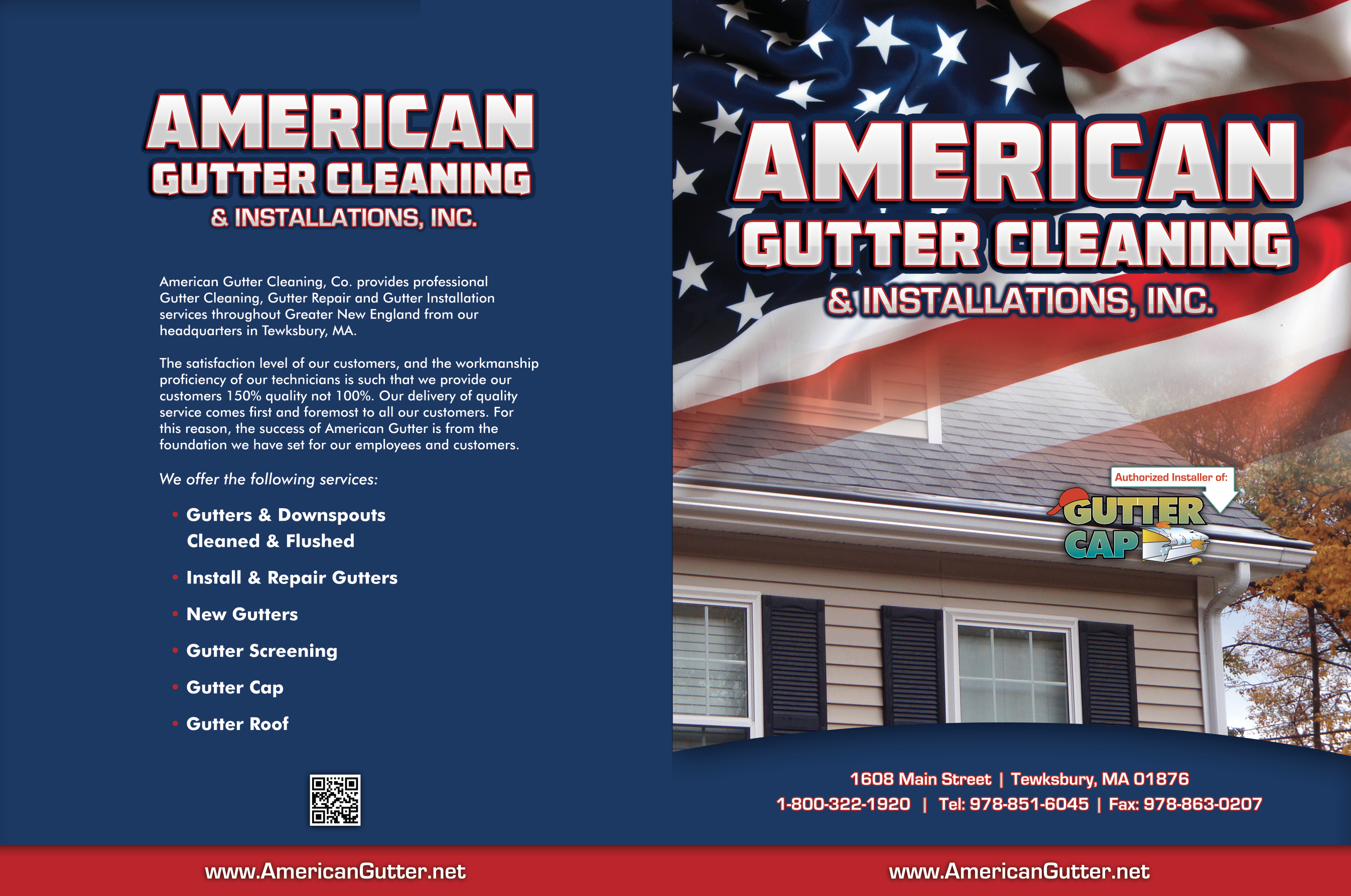 AMERICAN GUTTER CLEANING FOLDER