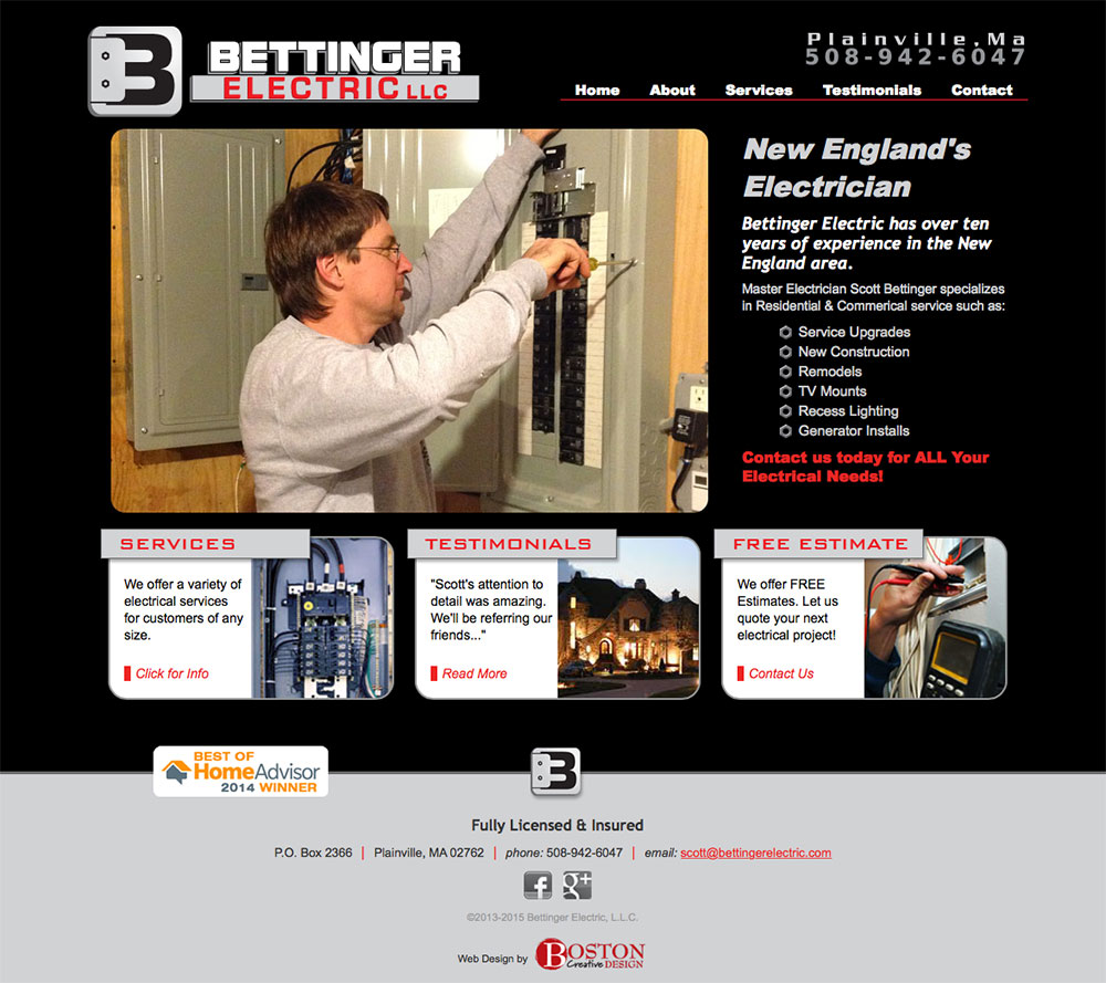 BETTINGER ELECTRIC