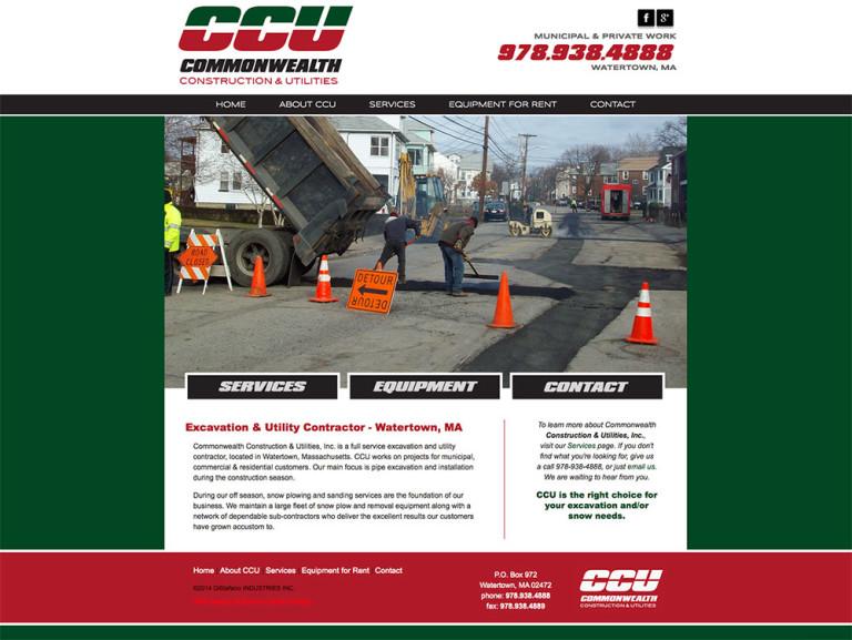 CCU COMMONWEALTH CONSTRUCTION