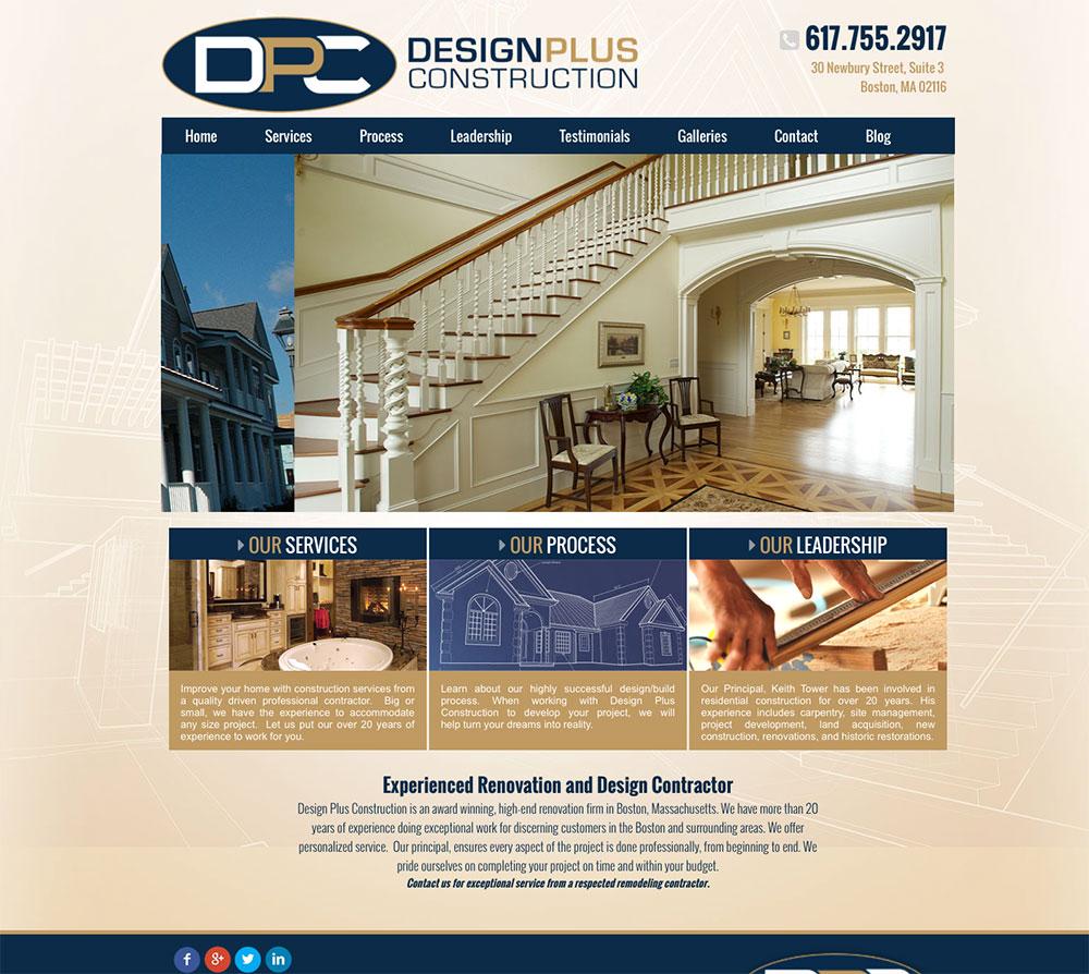 DESIGN PLUS CONSTRUCTION