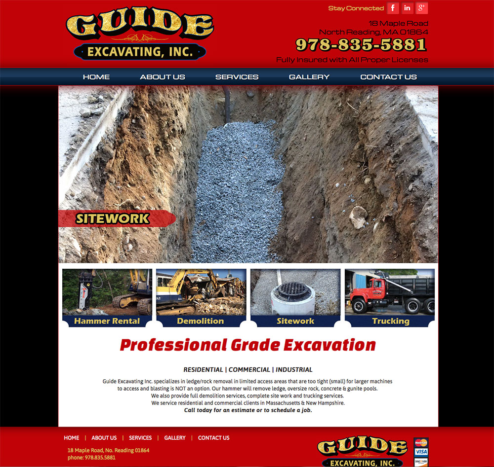 GUIDE EXCAVATING