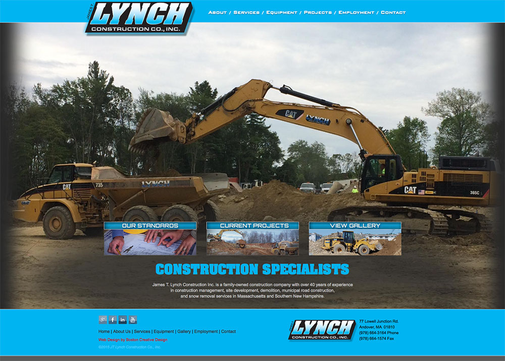 JT LYNCH CONSTRUCTION