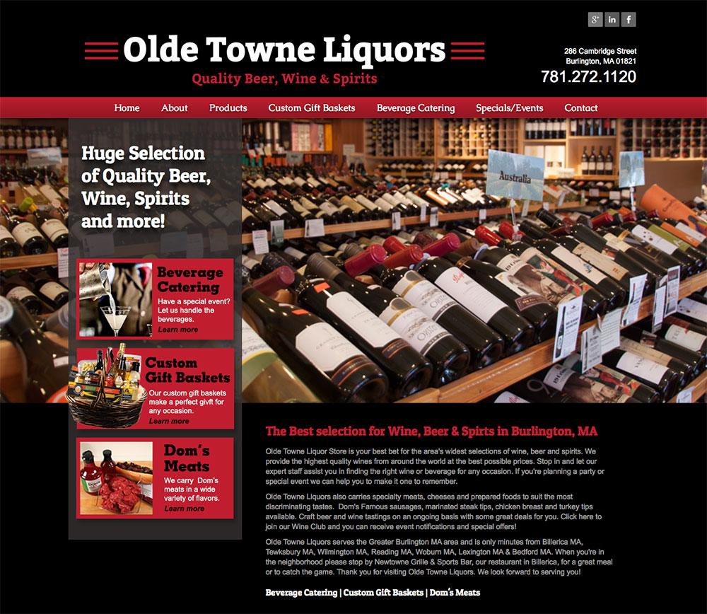 OLDE TOWN LIQUORS