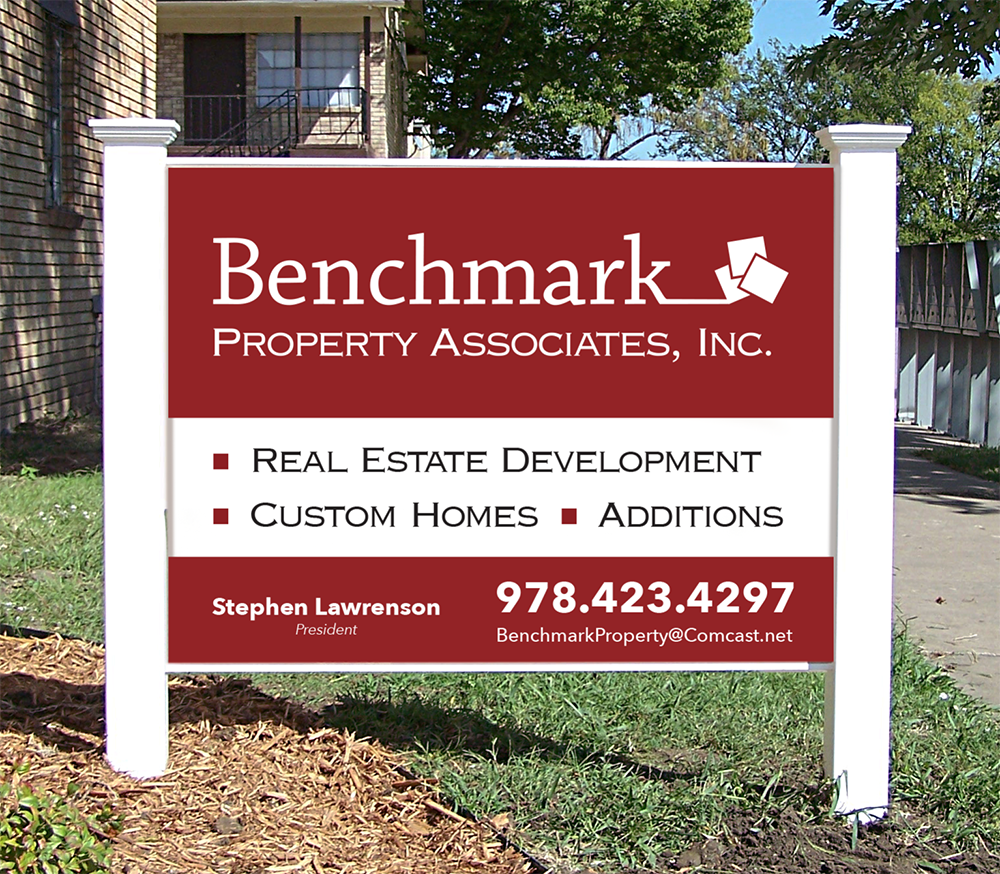 BENCHMARK OUTDOOR SIGNAGE