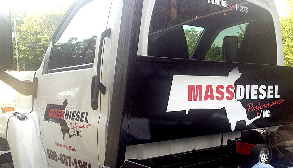 MASS DIESEL TRUCK GRAPHICS