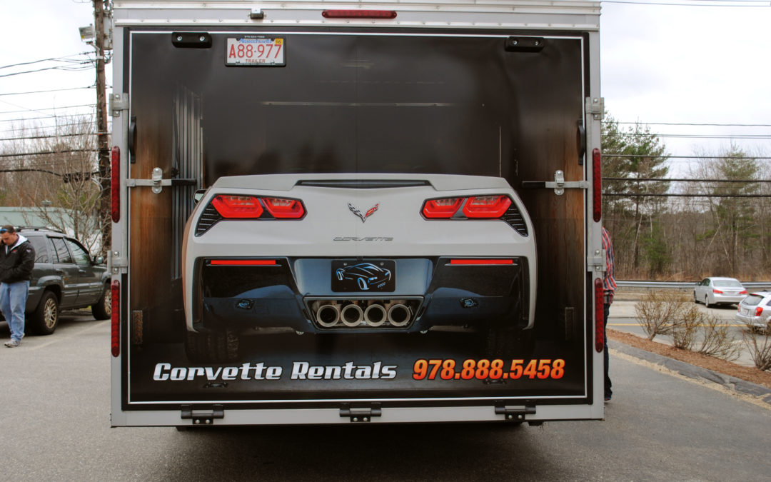 NE CORVETTE TRAILER DOOR