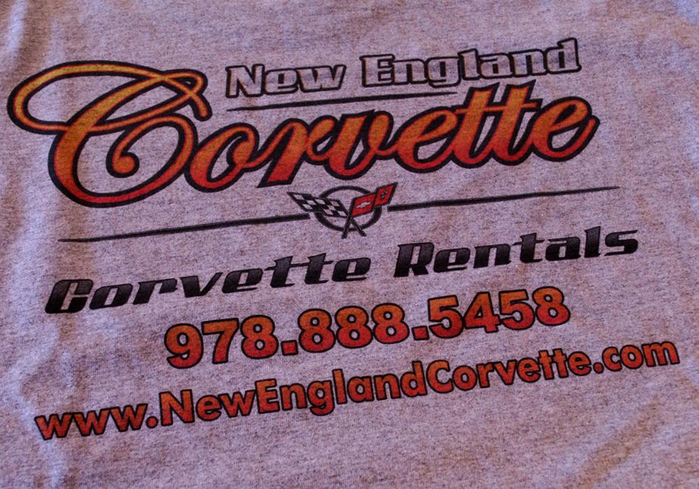 NE CORVETTE T-SHIRTS